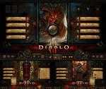 DIABLO III (theme for Rainmeter)