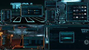 TRON legacy (theme for WINDOWS 10)