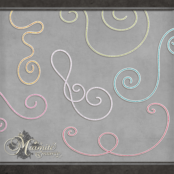 Swirlys by DaydreamersDesigns