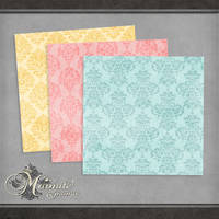 Acid Damask by DaydreamersDesigns
