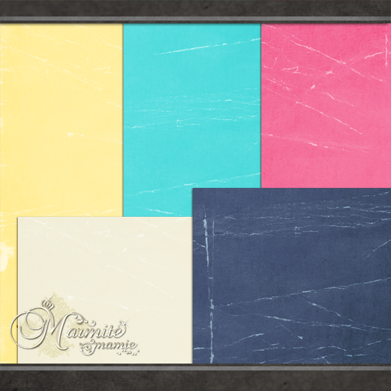 Raindrops and Rainbows Papers by DaydreamersDesigns