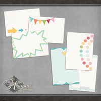 My Happy Place Journal Cards 2 by DaydreamersDesigns