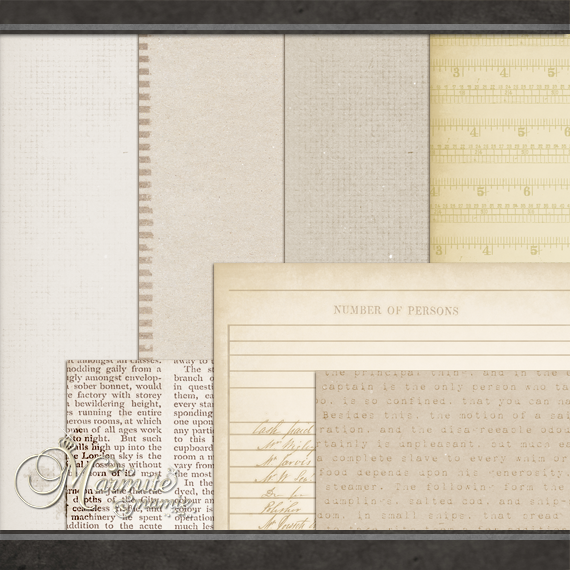 At the Office Papers by DaydreamersDesigns