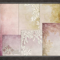 Ethreal Papers Set 1and 2 by DaydreamersDesigns
