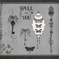 Spell on You Elements by DaydreamersDesigns