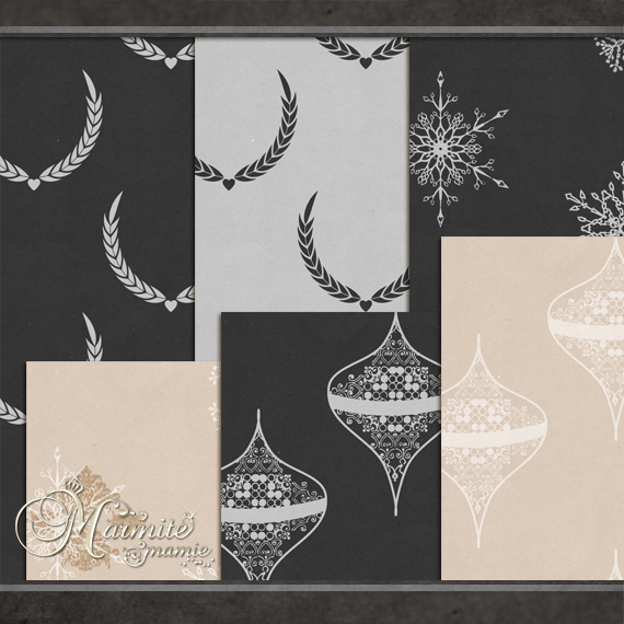 Festive Backgrounds by MarmiteMamie