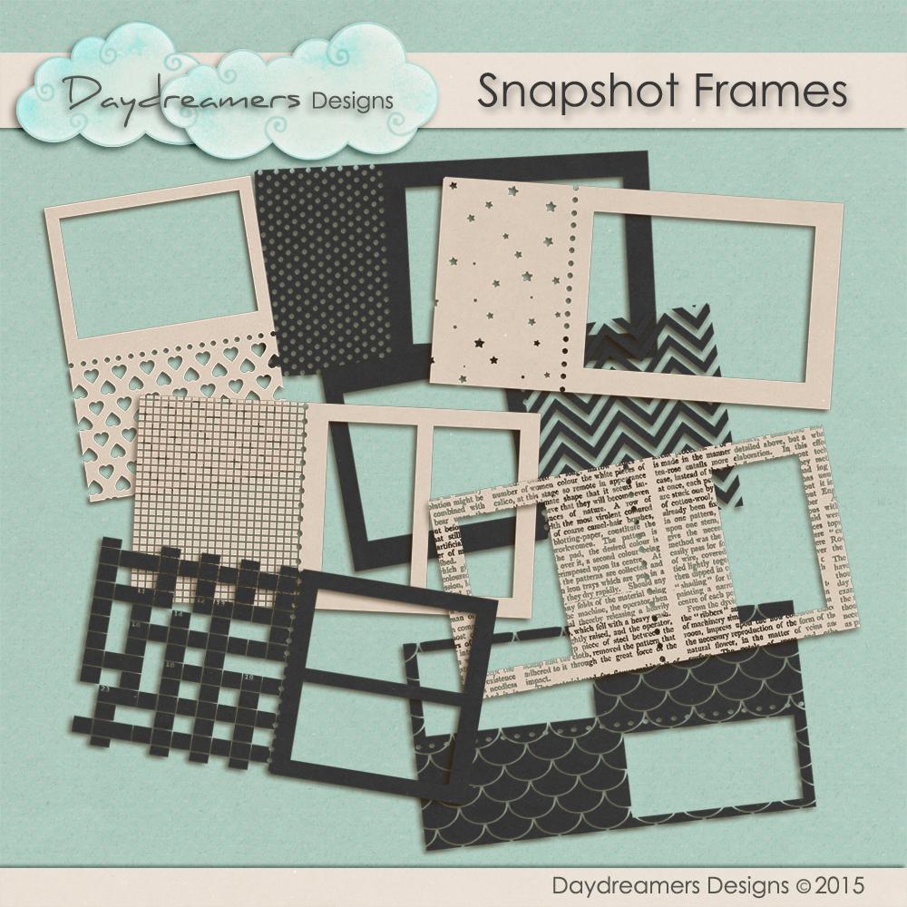 Snapshot Frames by DaydreamersDesigns