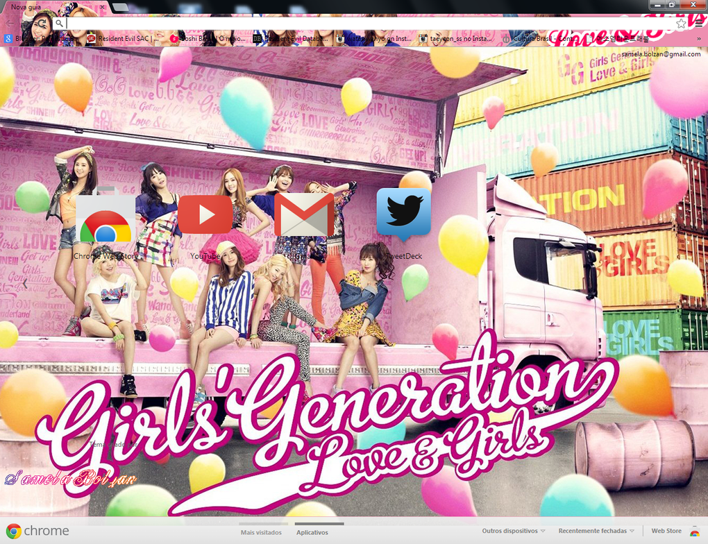 Love themes for gmail - Love And Girls Snsd By Samelabolzan