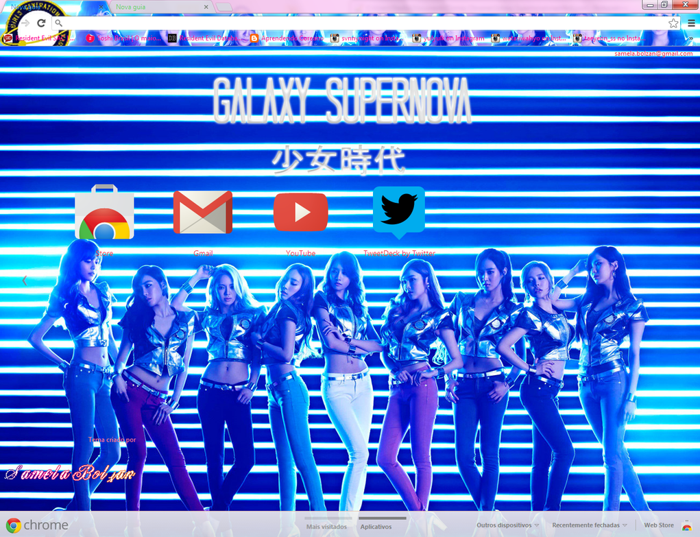 galaxy supernova snsd meme - photo #4