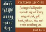 Monk Gothic - Type