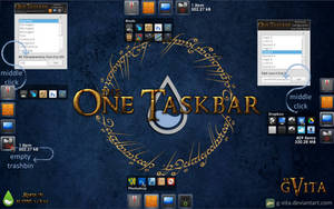 The One Launcher for RainMeter by g-Vita