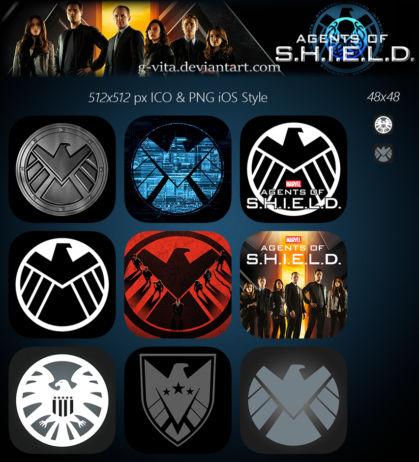 Marvel's Agents Of SHIELD TV Series Icon by g-Vita on ...