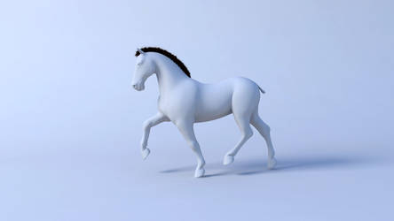 Horse animation 1/3 - trot