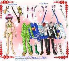 Yuriko Dress Up Game by Kaleidoscope-Crystal