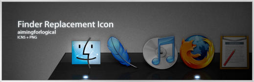 Finder Icon Replacement by aimingforlogical on DeviantArt