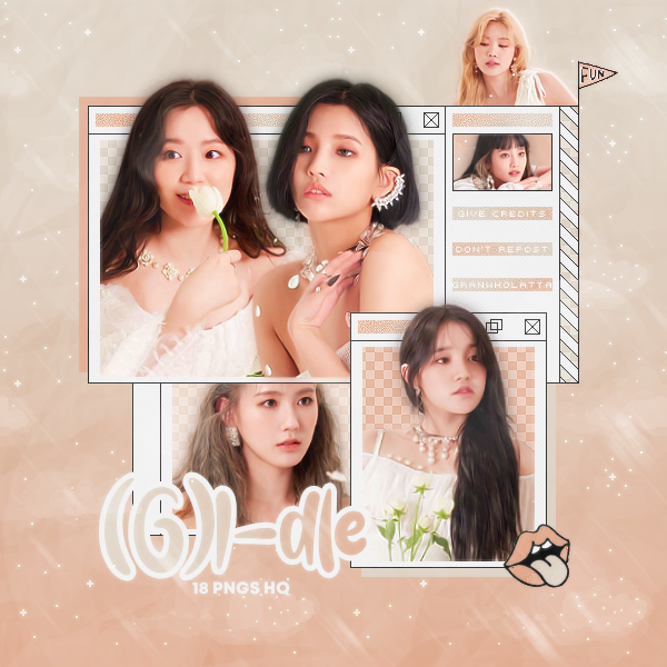 036 Png Pack G I Dle I Trust Behind Photos By Granwholatta On Deviantart