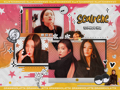 #056 PNG PACK: IRENE AND SEULGI (MONSTER)