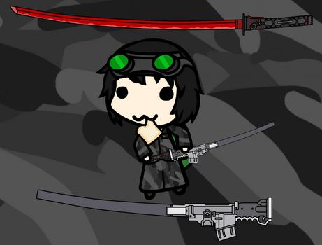 Walfas CP - HF Murasama and Gun Scabbard Download