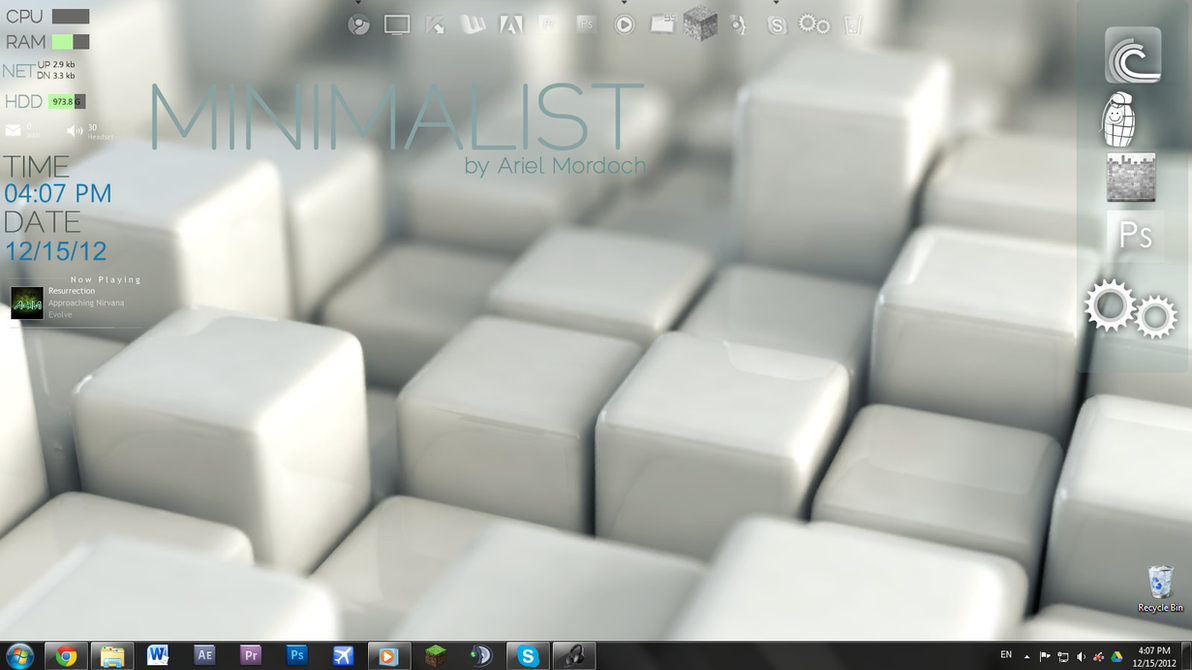 Minimalist 1.4 by IwinFTW