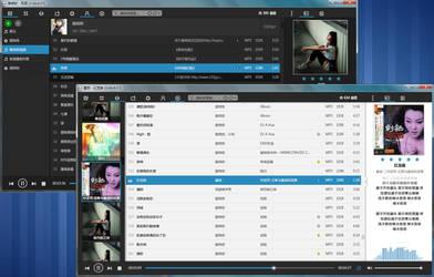 foobox 4.2 (foobar2000 CUI config) by dramawake