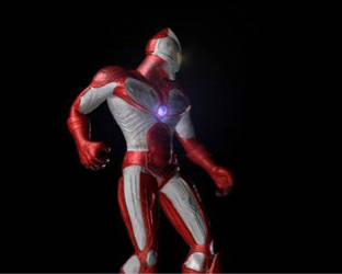 Animated Ultraman Work in Progress by manguy12345
