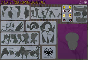 Create-Your-Own-Gargoyle by Vaawl