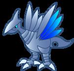 Sapphire Skarmory Vector