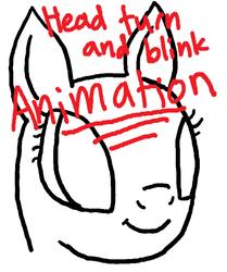 Pony Head Turn Animation