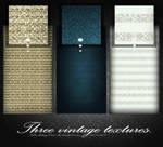 Three vintahe textures