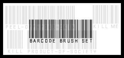 barcode brush set by hallucinogenic-brush
