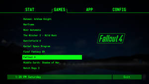 GameHUB Pip boy theme for Rainmeter