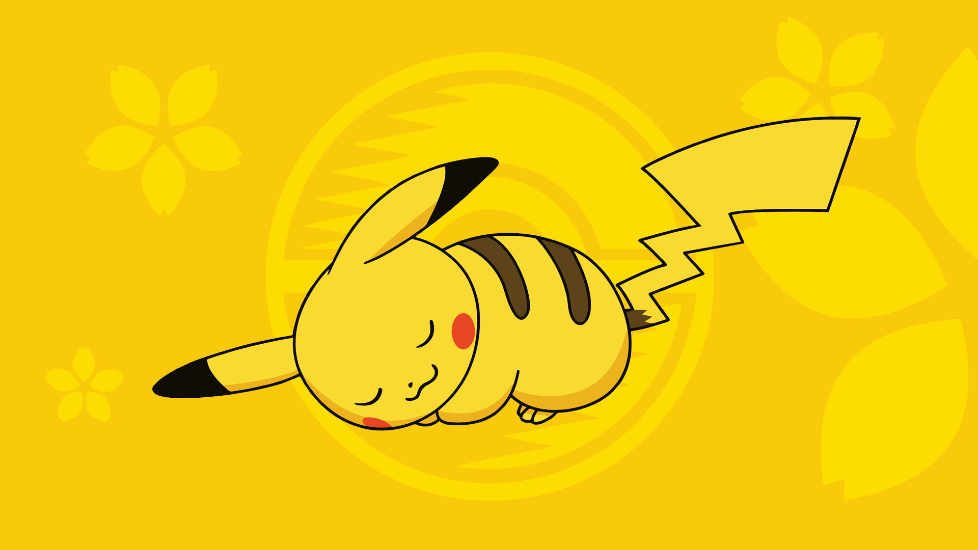 Wallpaper  Onemuri Pikachu by HonokawaPikachu Face Wallpaper