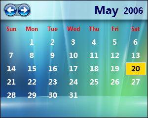 LClock Calendar