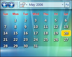 LClock Calendar2