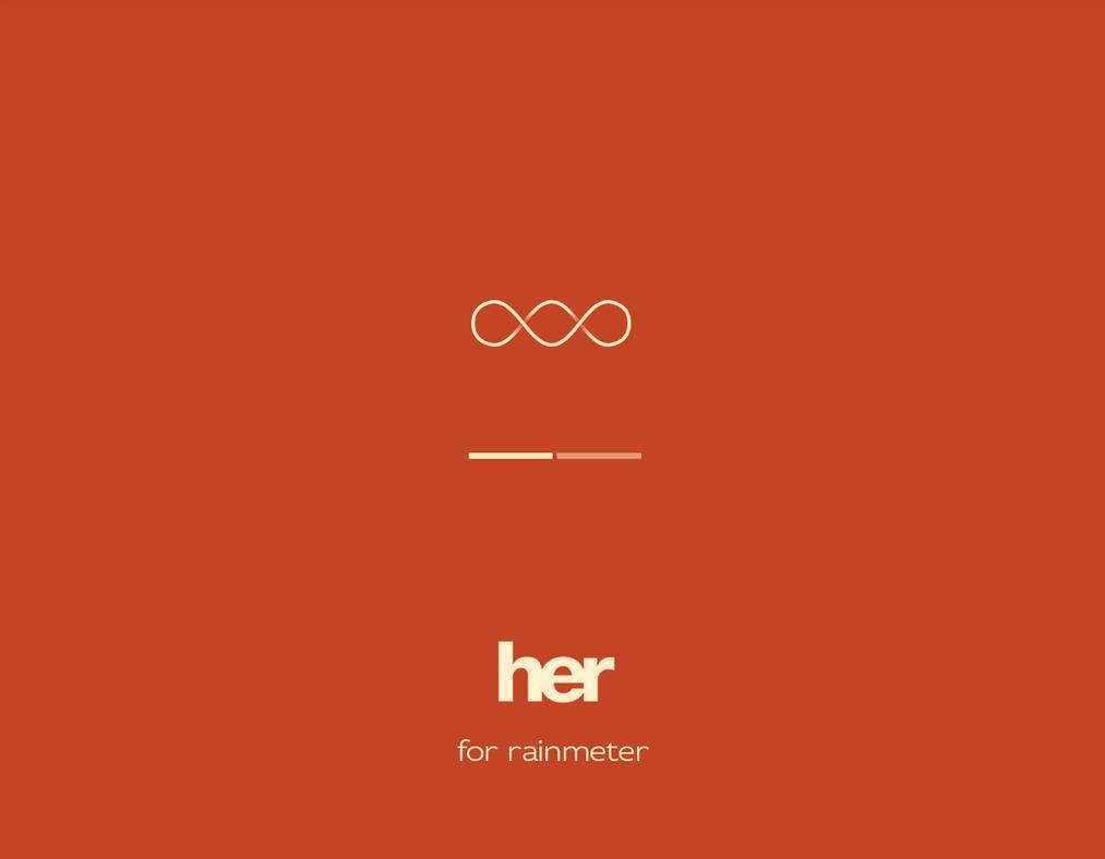 Her [Rainmeter] by Ivaran