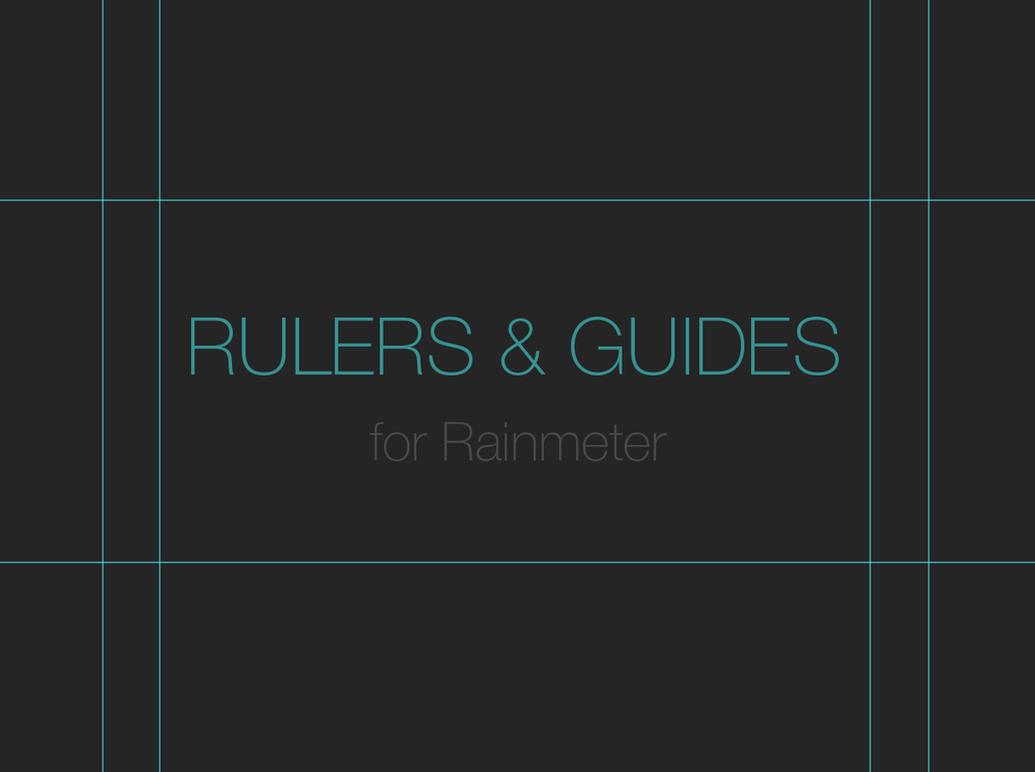 Rulers and guides [Rainmeter] by Ivaran
