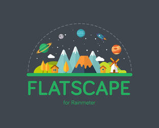 FlatScape [Rainmeter] by Ivaran