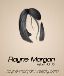RM - Instant Hair 10 by RayneMorgan