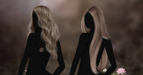 RM - Instant Hair 122, 123 by RayneMorgan