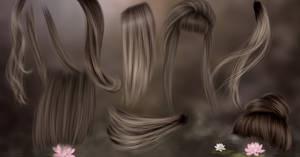 RM - Hair Strands 19 by RayneMorgan