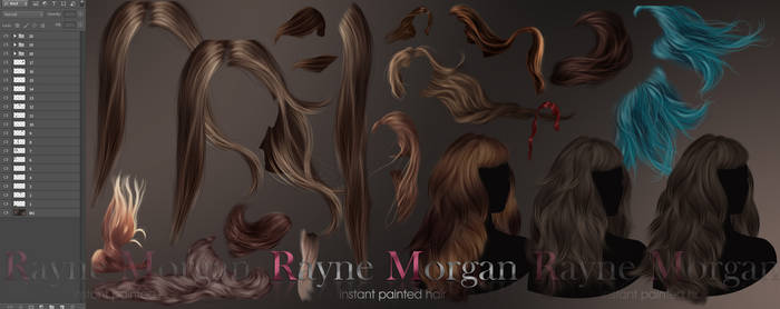 RM - Instant Painted Hair Collection 05
