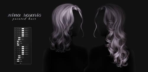 NINA ROSARIO - Instant Painted Hair 199 by RayneMorgan