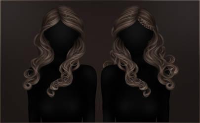 DePERLA Digital Painted Hair 01 by RayneMorgan
