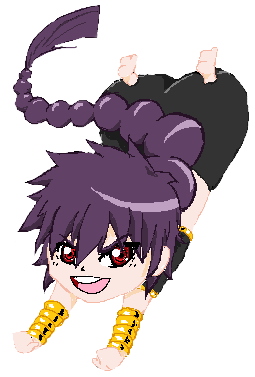 Ms paint: Judal by CaptainMika