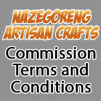 Commission terms and conditions by Nazegoreng