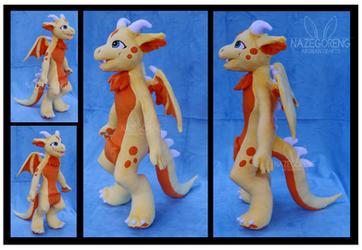 Sunshine the Kangon Custom Plush by Nazegoreng