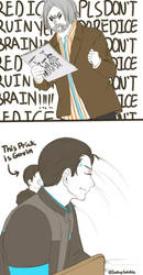 Detroit: Become human - Don't Do RedIce, kids by SmilingSatellite