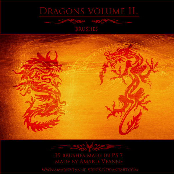 Dragons volume II by AmarieVeanne-Stock