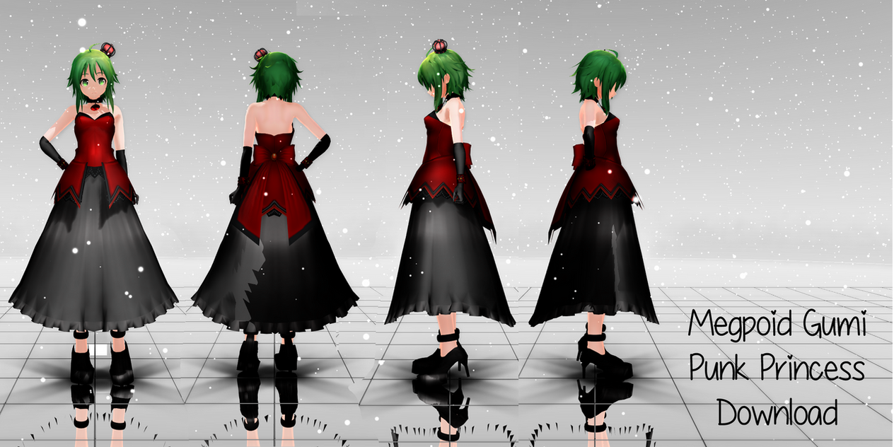 Punk Princess GUMI Download by megpoid625