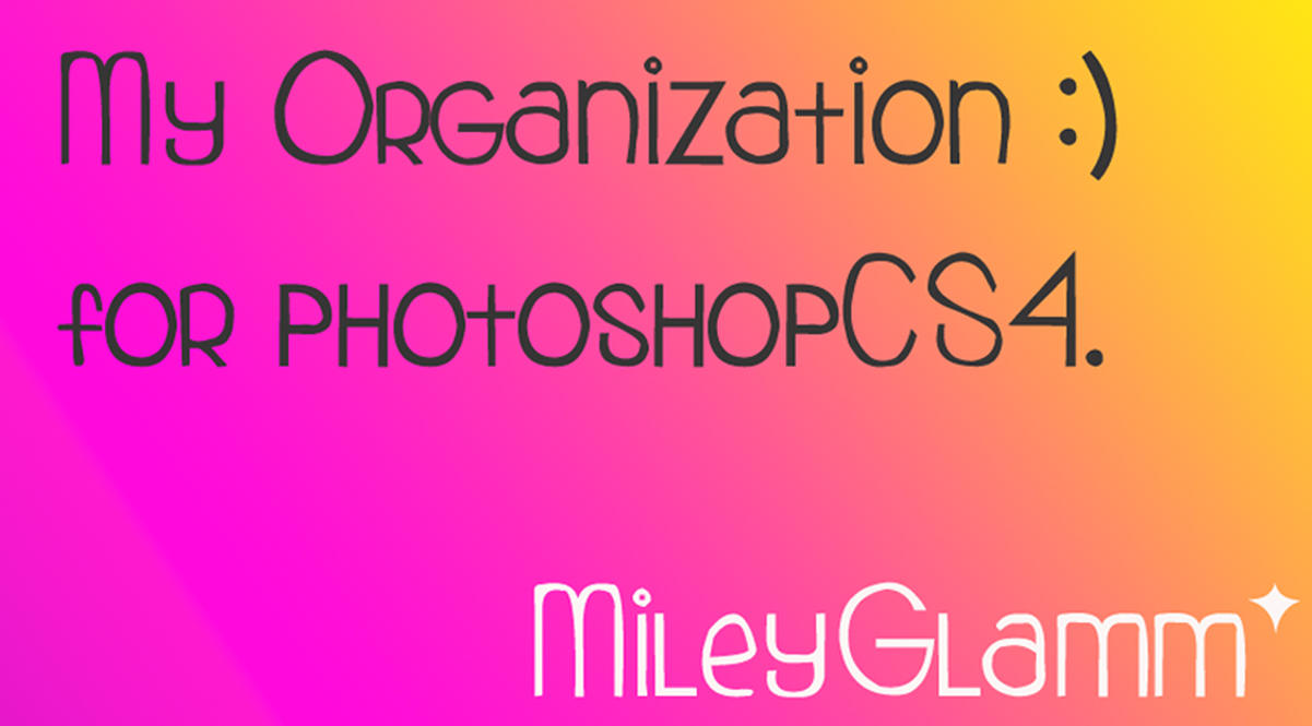 My Organization by MileyGlamm